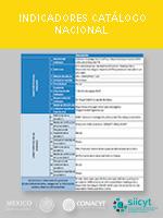 Indicadores Catálogo Nacional